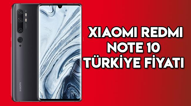 Xiaomi Redmi Note 10 serisi Türkiye fiyatı